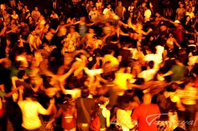 Ciranda na apresentação do grupo de cultura popular Mestre Benedito de Cabedelo com dona Teca, na Forte Santa Catarina durante o encontro de estudantes de Ciências Sociais - Cabedelo - Paraíba - Brasil Foto: ©Lilia Tandaya